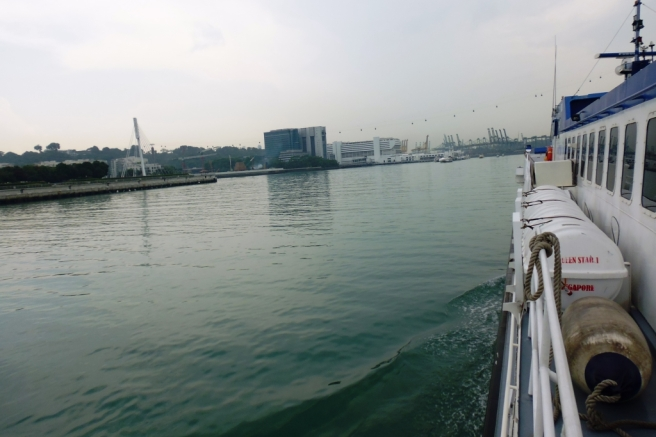 Dari atas ferry. | Foto: Kascey